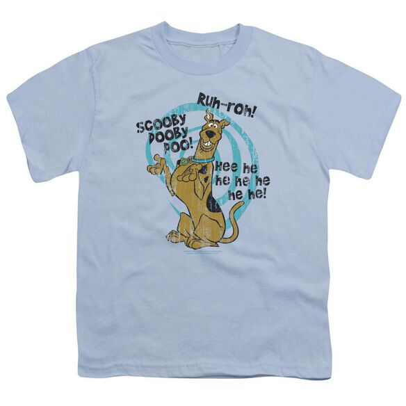 Scooby Doo Quoted Short Sleeve Youth Light T-Shirt