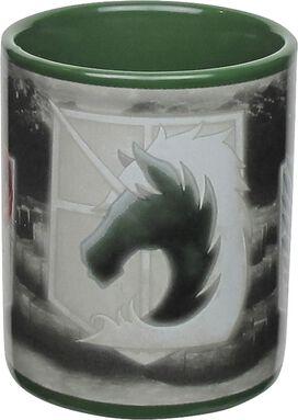 Attack on Titan Badges Mug