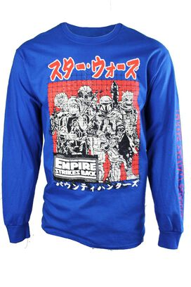 Star Wars Empire Strikes Back Abunai Kanji Long Sleeve T-Shirt