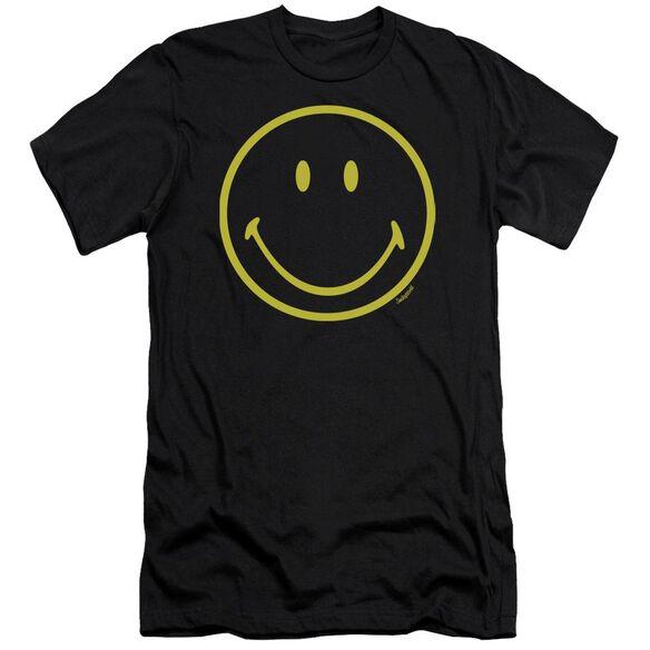 Smiley World Yellow Line Smiley Premuim Canvas Adult Slim Fit