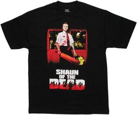 Shaun of the Dead Bloody Bat T-Shirt