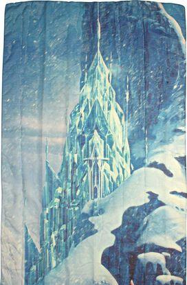 Frozen Elsa Snow Scene Scarf