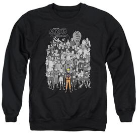 Naruto Characters Adult Crewneck Sweatshirt