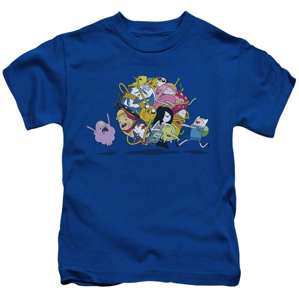 Adventure Time Glob Ball Short Sleeve Juvenile Royal T-Shirt