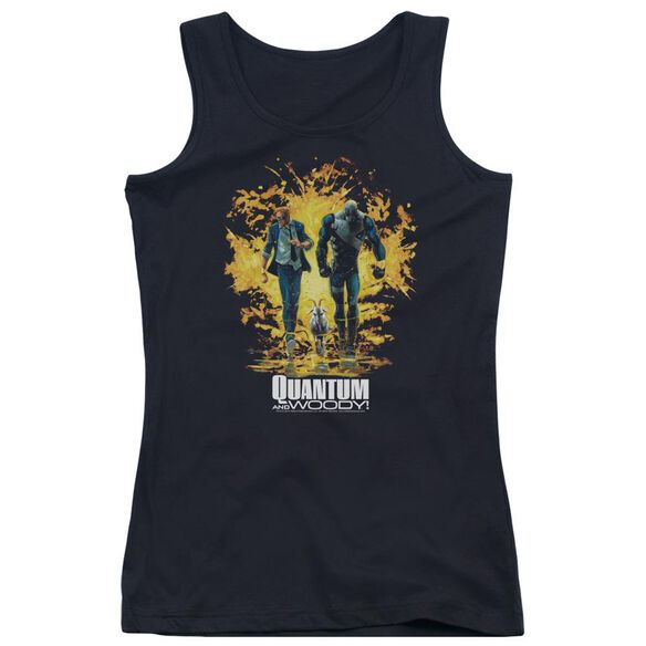 Quantum And Woody Explosion Juniors Tank Top