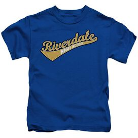 Archie Comics Riverdale High School Short Sleeve Juvenile Royal Blue Md T-Shirt