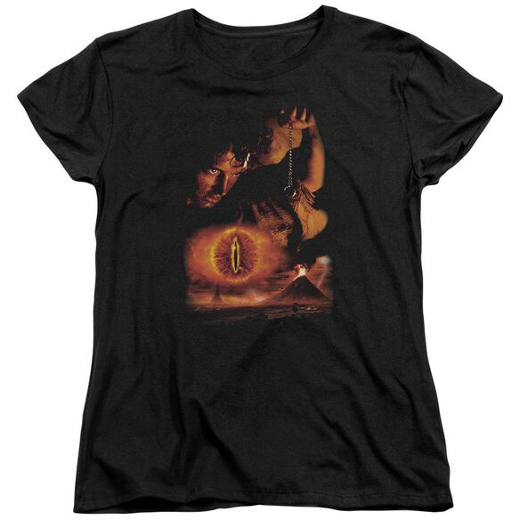 Lor Destroy The Ring Short Sleeve Womens Tee T-Shirt