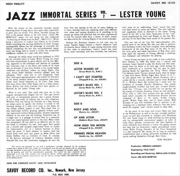 Jazz Immortals 0502