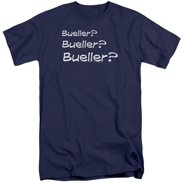 Ferris Bueller Bueller? Short Sleeve Adult Tall T-Shirt