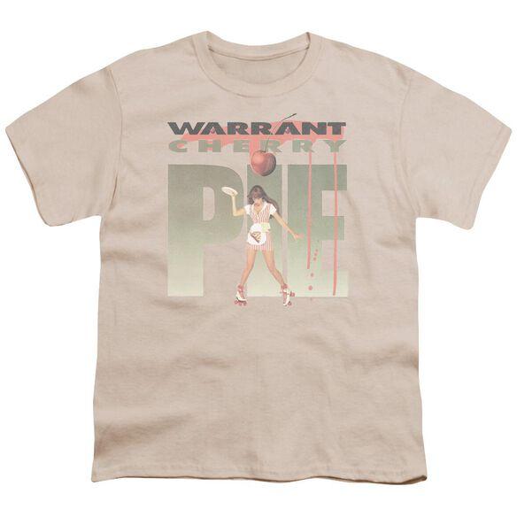 Warrant Cherry Pie Short Sleeve Youth T-Shirt