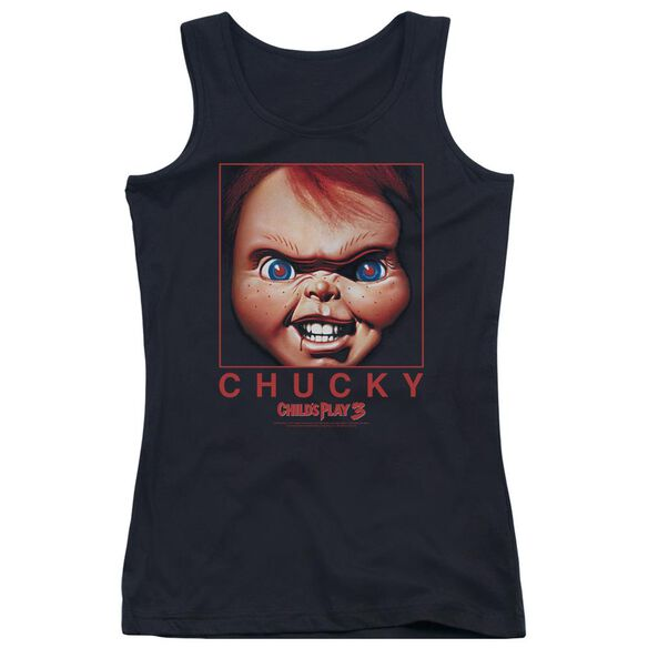 Childs Play 3 Chucky Squared Juniors Tank Top