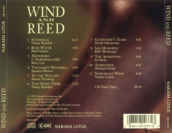 Wind And Reed 1093