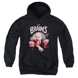 Izombie Brains And Beauty Youth Pull Over Hoodie