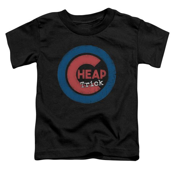Cheap Trick Cheap Cub Short Sleeve Toddler Tee Black T-Shirt