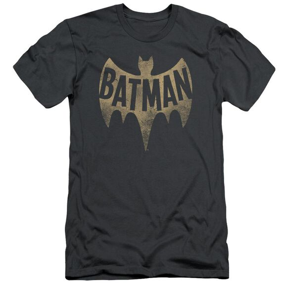Batman Classic Tv Vintage Logo Short Sleeve Adult T-Shirt