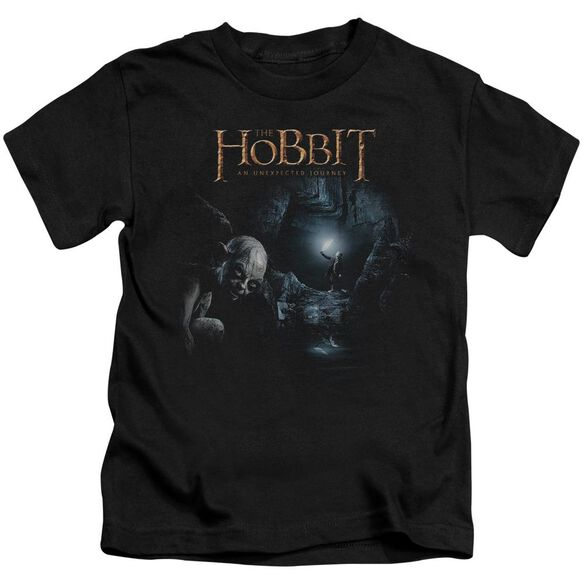 The Hobbit Light Short Sleeve Juvenile Black Md T-Shirt