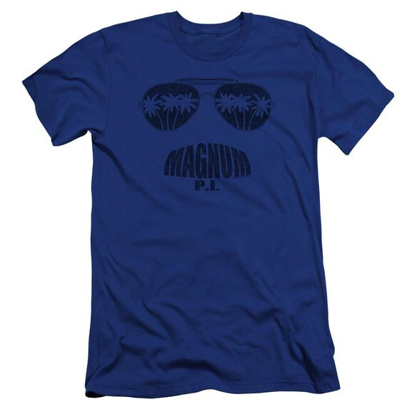 Magnum Pi Face It Premuim Canvas Adult Slim Fit Royal