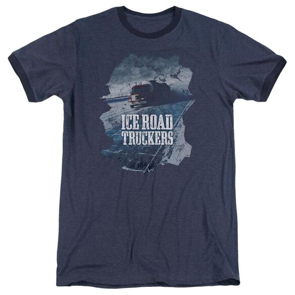 Ice Road Truckers Ice Road Adult Ringer Navy