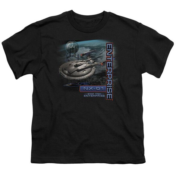 Star Trek Enterprise Nx 01 Short Sleeve Youth T-Shirt