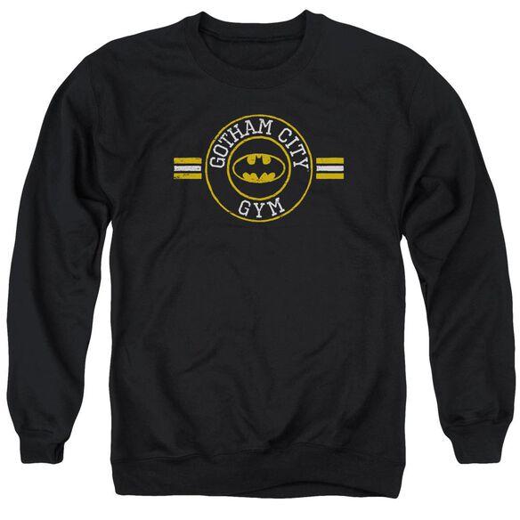 Batman Gotham City Gym Adult Crewneck Sweatshirt