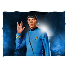 Star Trek Spock Pillow Case White