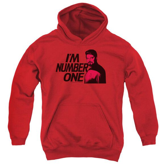 Star Trek Im Number One Youth Pull Over Hoodie