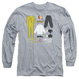Bruce Lee Lee Gift Set Long Sleeve Adult Athletic T-Shirt