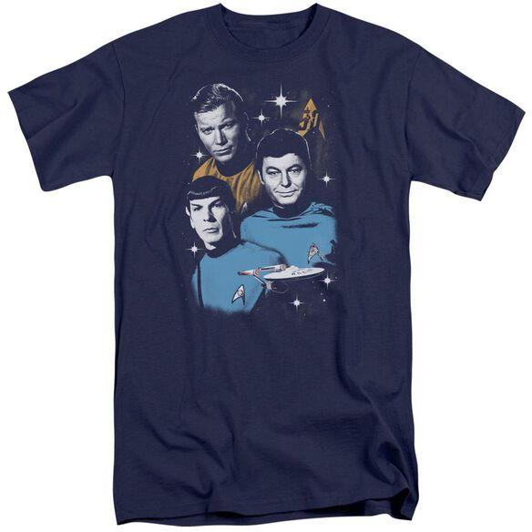 Star Trek All Star Crew Short Sleeve Adult Tall T-Shirt