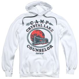 Friday The 13 Th Camp Counselor Adult Pull Over Hoodie