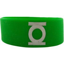 Green Lantern Logo Rubber Wristband