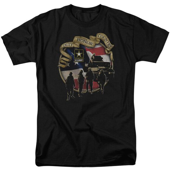 Army Duty Honor Country Short Sleeve Adult T-Shirt