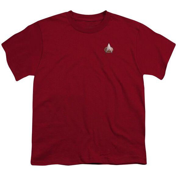 Star Trek Tng Command Emblem Short Sleeve Youth T-Shirt