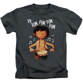 Little Drummer Boy Drum Beat Short Sleeve Juvenile T-Shirt