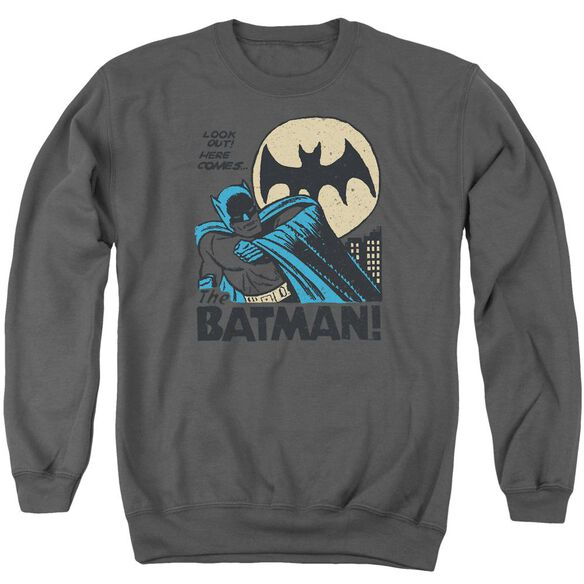 Dc Look Out Adult Crewneck Sweatshirt