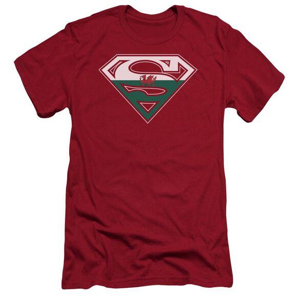 Superman Welsh Shield Premuim Canvas Adult Slim Fit