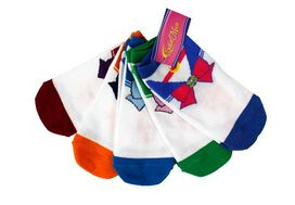 Sailor Moon Bows Low Cut Ankle Socks 5-Pack