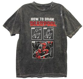 How To Draw Deadpool T-Shirt