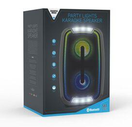 Sharper Image - Party Lights Karaoke Speaker SBT1041
