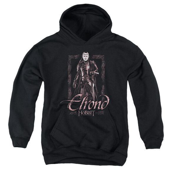 The Hobbit Elrond Stare Youth Pull Over Hoodie