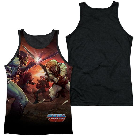 Masters Of The Universe Battle-adult Poly Tank Top