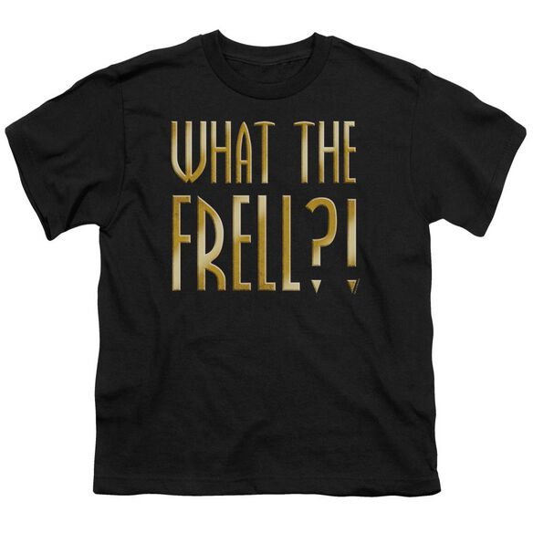 FARSCAPE WHAT THE FRELL - S/S YOUTH 18/1 - BLACK T-Shirt