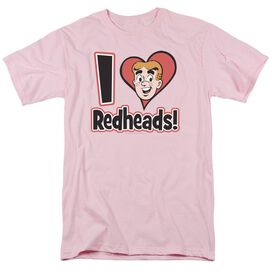 Archie Comics I Love Redheads Short Sleeve Adult T-Shirt