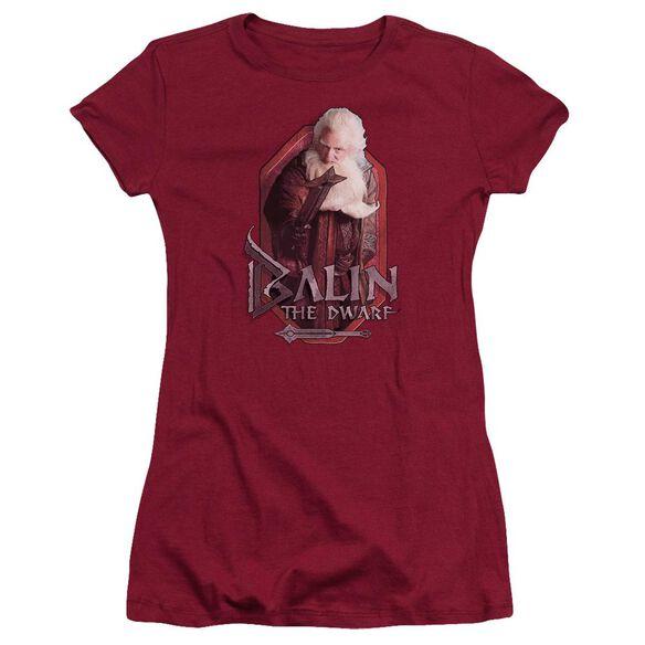 The Hobbit Balin Short Sleeve Junior Sheer T-Shirt