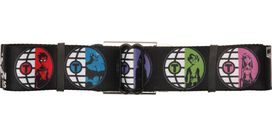 Teen Titans Characters Circles Seatbelt Belt