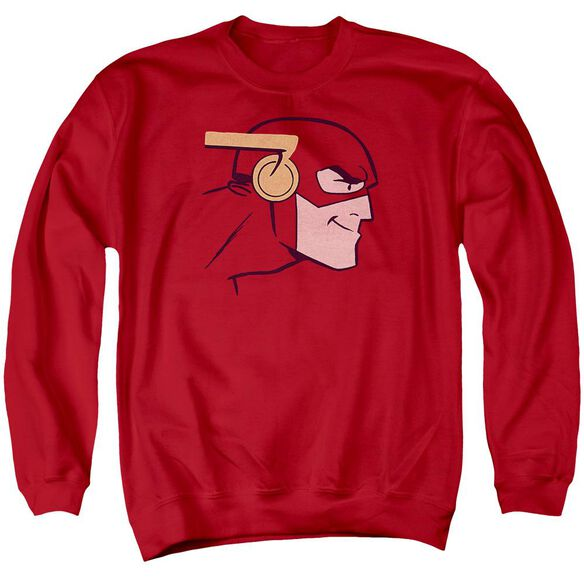 Jla Cooke Head Adult Crewneck Sweatshirt