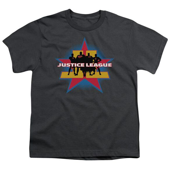 Jla Stand Tall Short Sleeve Youth T-Shirt