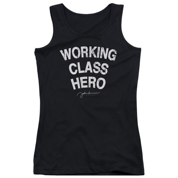 John Lennon Working Class Hero Juniors Tank Top
