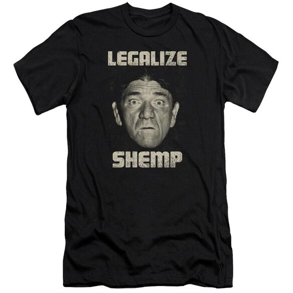 Three Stooges Legalize Shemp Premuim Canvas Adult Slim Fit