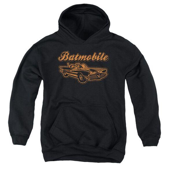 Batman Batmobile Youth Pull Over Hoodie