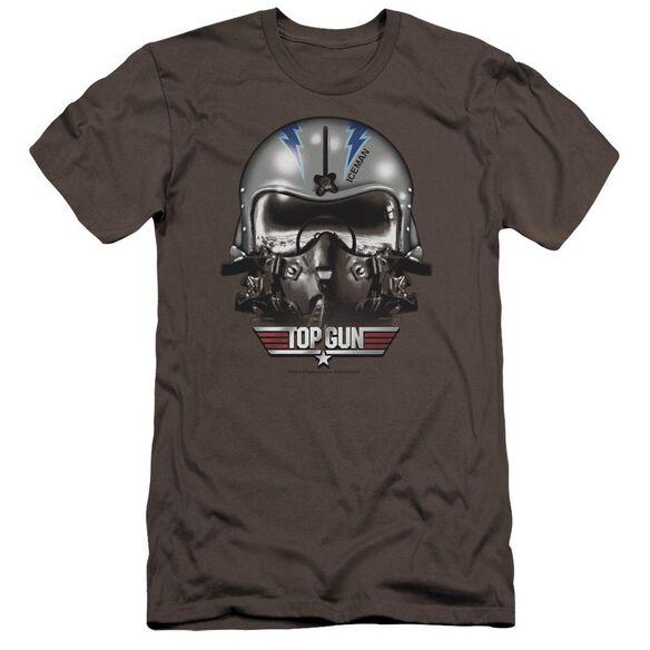 Top Gun Iceman Helmet Premuim Canvas Adult Slim Fit